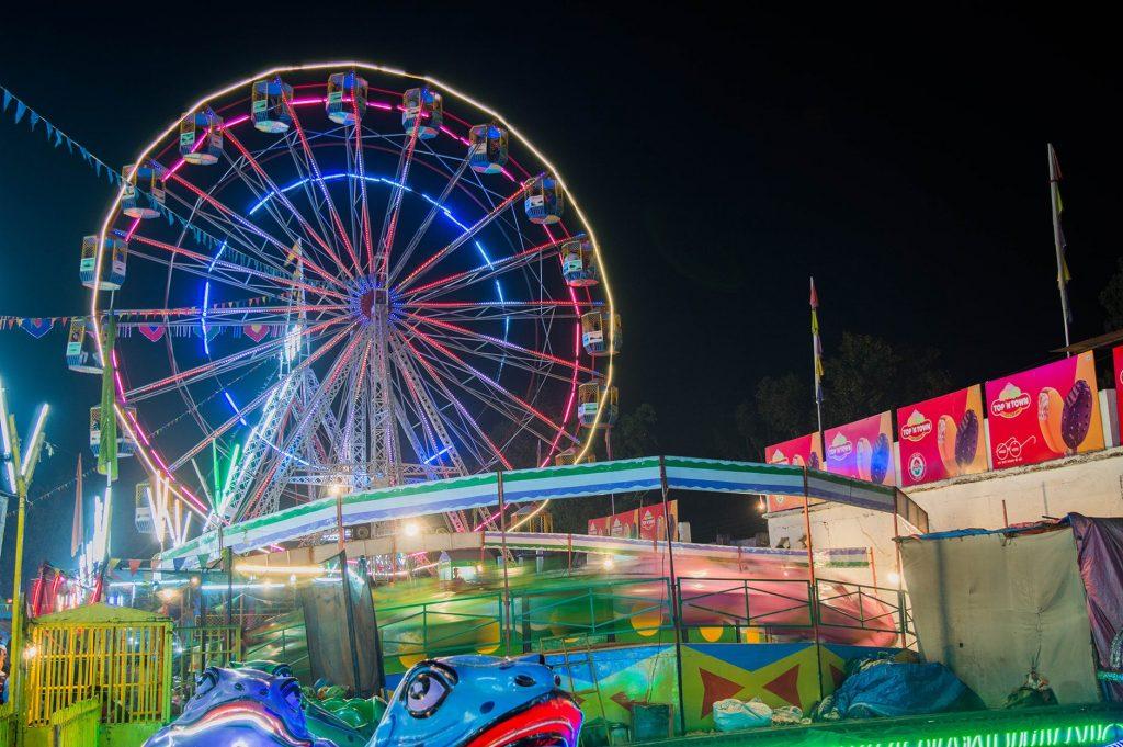 Essay on Visit to a Fair : Ferris Wheel